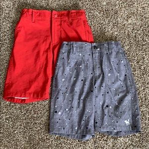 A&F kids pool to playground trunks